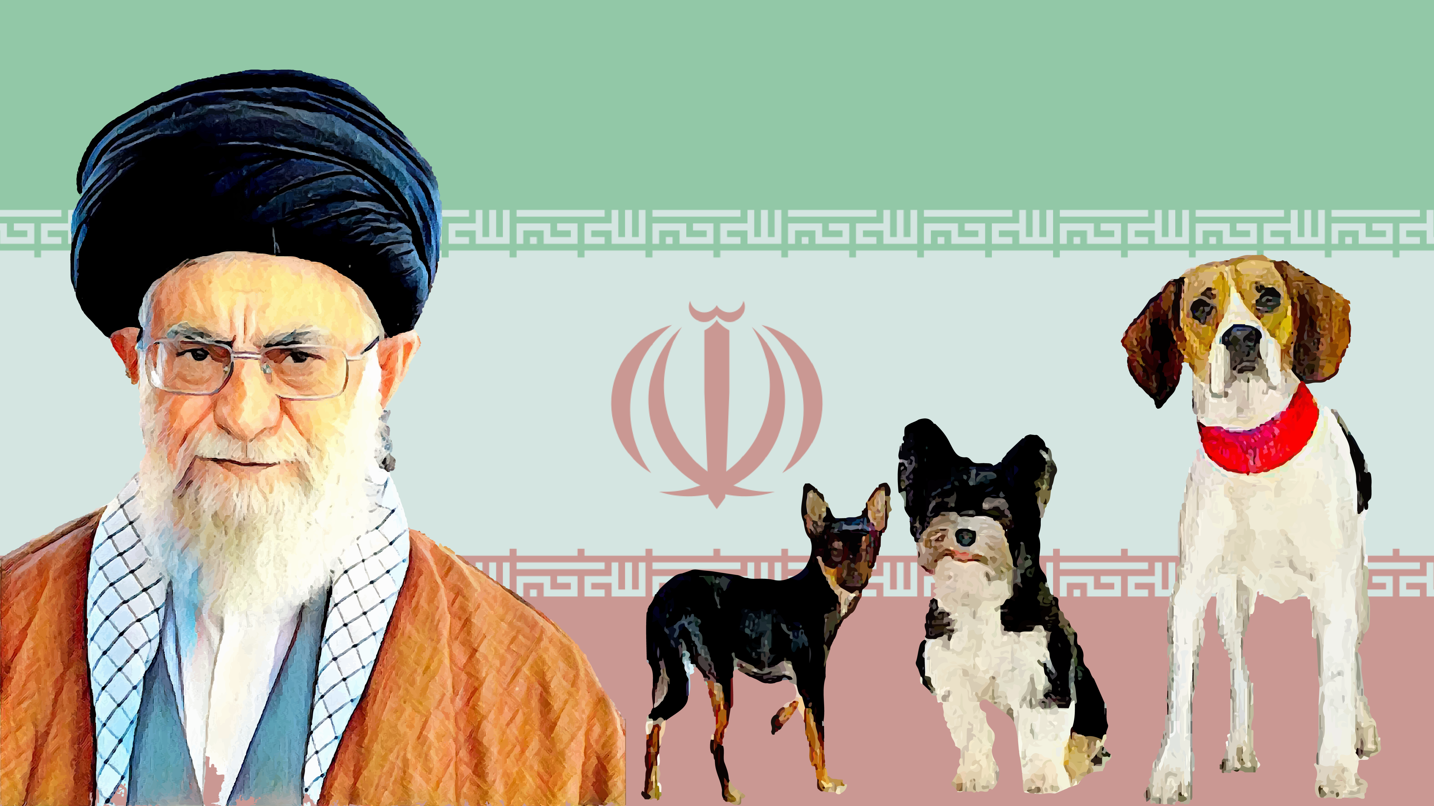 Iranian officials ban dog-walking in public spaces