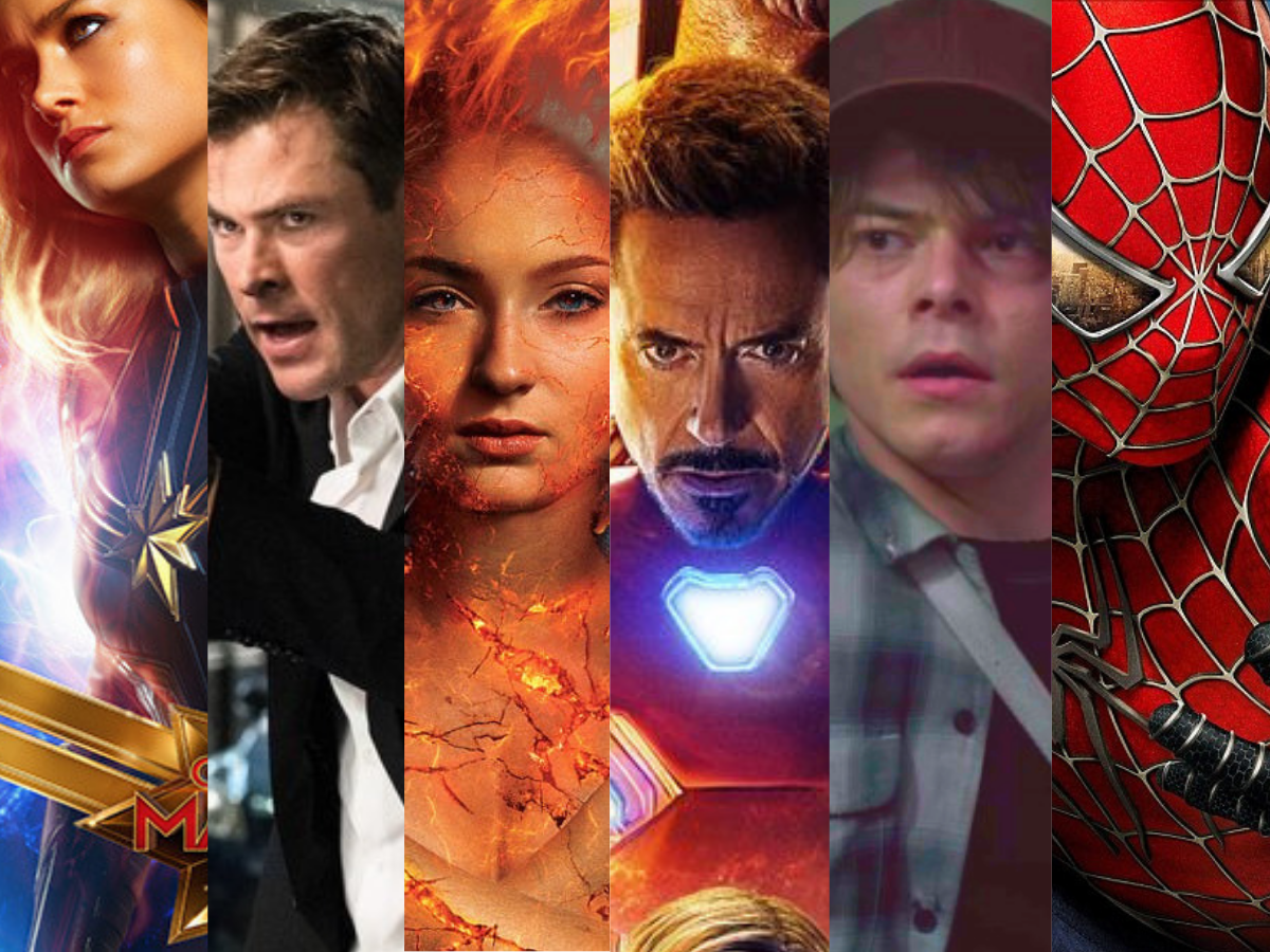 Marvel Movies releases in 2019