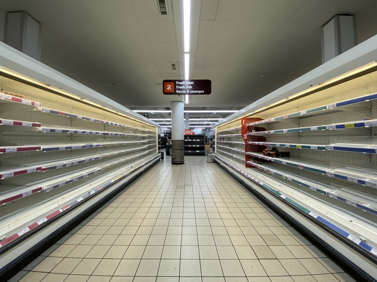 Empty Supermarkets